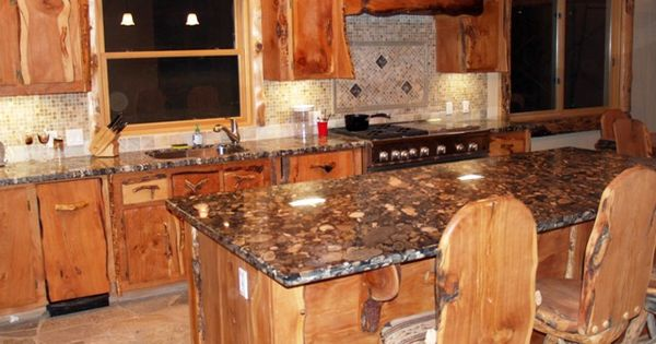 The Home Pinterest Shelves Rustic Style And Kitchen Countertops