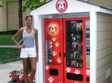 Hey Buddy Another Unique Vending Machine Available To Franchise Dog Playground Dog Store Vending Machine