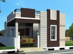 Image Result For Small House With Car Parking Construction Elevation Independent House Duplex House Design Small House Front Design