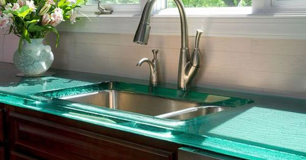 Solid frosted painted glass backsplash with glass for Paint for glass surfaces