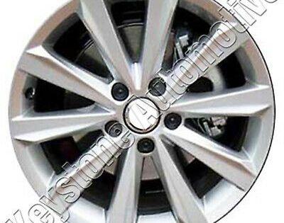 Advertisement Ebay Oem Reman 17x7 Alloy Wheel Rim Flat Light Silver Full Face Painted 69961 Wheel Alloy Wheel Ebay