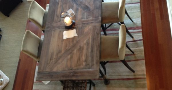 Barn Doors Doors And Dining Tables On Pinterest