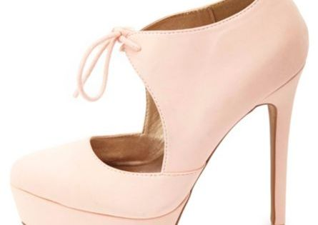 Wedge sandals - Tied Mary Jane Platform Pumps: Charlotte Russe
