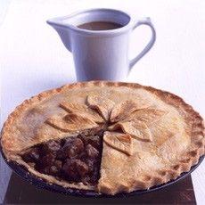 Mum S Steak And Kidney Plate Pie Recipe Food Yummy Food Recipes