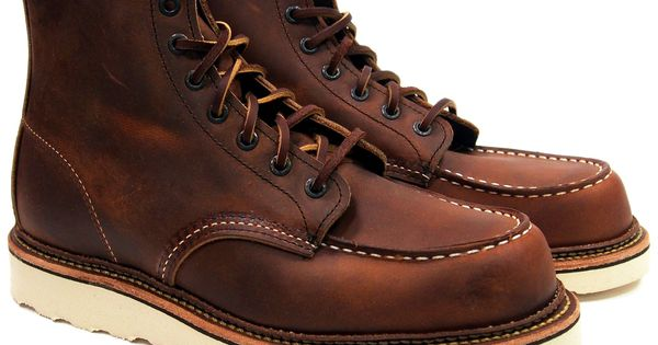 Red Wing Heritage Moc Toe Boots 1907 Red Wing Models
