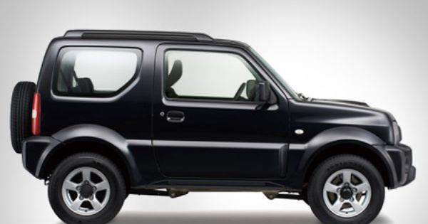 Suzuki Jimny Black Color Side Full View Suv
