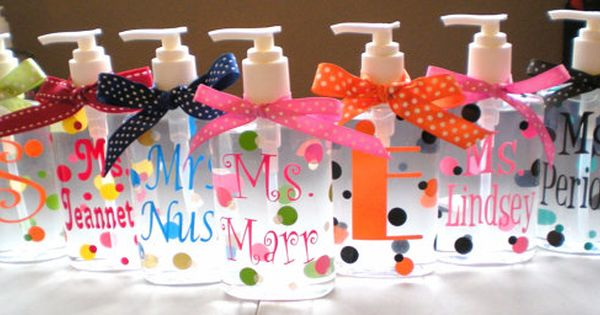 Personalized Hand Soap Stocking Stuffer. $11.95, via Etsy.
