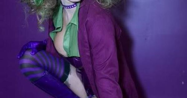 Joker costume. Family Halloween costume ideas