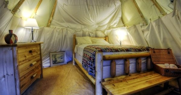 Teepee Camping at North Georgia Canopy Tours™ | Lula, Georgia
