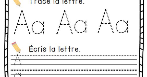 trousse d 39 tude de l 39 alphabet french alphabet study kit french immersion kindergarten and. Black Bedroom Furniture Sets. Home Design Ideas