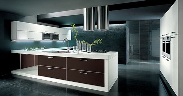 Gabinetes de cocina modernos dise o de interiores Diseno de gabinetes de cocina modernos