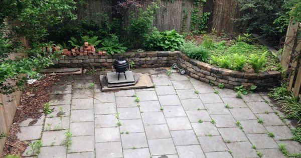Aménagement jardin et terrasse en ville d'une maison à Brooklyn ...