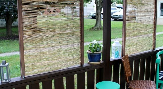 Diy bamboo privacy screen screens outdoor privacy and Bamboo screens for outdoors