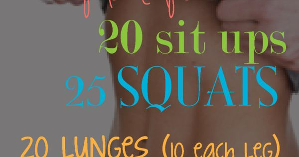 Mini workout in 15 minutes
