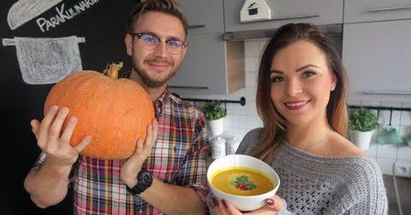 Zupa Krem Z Dyni Z Mleczkiem Kokosowym I Kolendra Wege Youtube Pumpkin Recipes Food