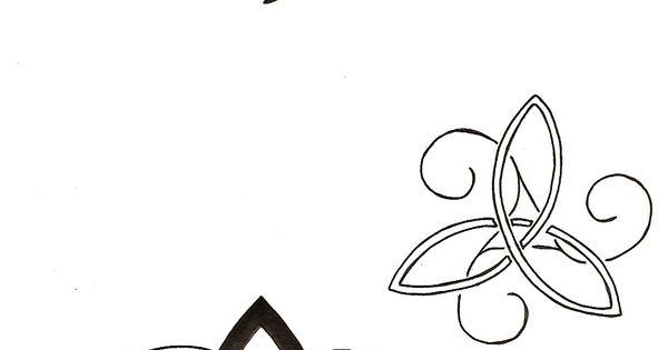 trinity tat ideas w/ initials