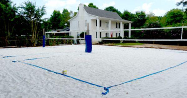Atlanta Sand Volleyball Courts Alpharetta Construction Sand Volleyball Court Beach Volleyball Court Volleyball