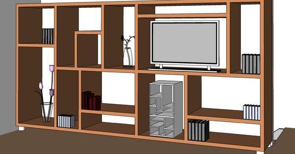 Modern TV Cabinet  Revit Models  Pinterest  TVs, Tv ...