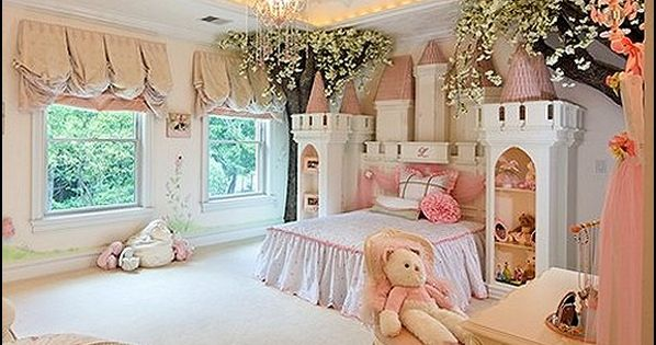 7 Inspiring Kid Room Color Options For Your Little Ones: Princess Inspired Room Decor