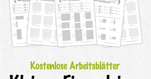 Kostenlose Arbeitsblu00e4tter und Unterrichtsmaterial zum Thema Kleines Einmaleins: Punktefelder im ...
