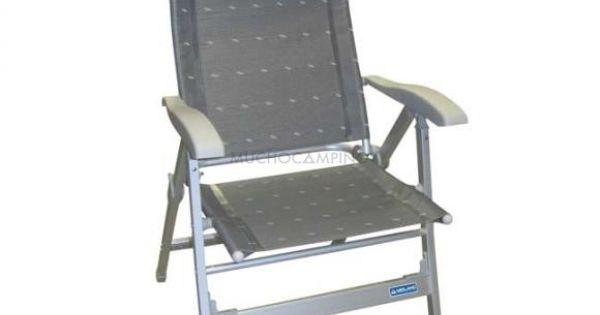 Silla camping plegable gris confort maxi midland camping for Sillas para acampar walmart