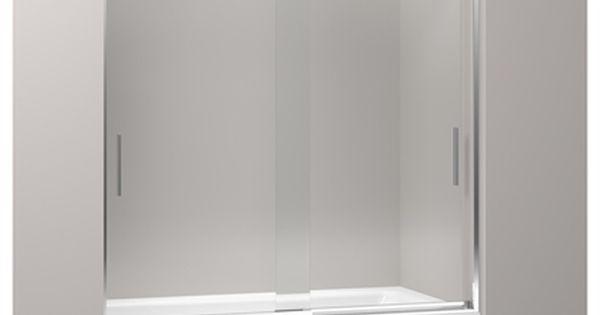Kohler Levity Frameless Bathtub Door With Images Bathtub Doors