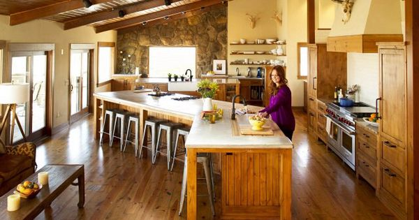 Love Layout And Size Of Pioneer Woman 39 S Kitchen