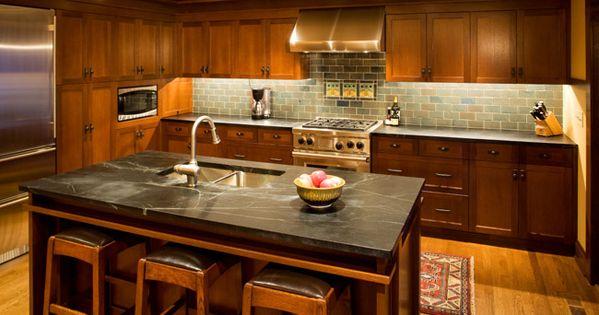 Lake Inspired Backsplash Custom Cabinetry And Soap
