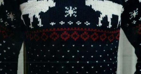 sweater christmas style men winter fashion - 8D Imma make Brian wear