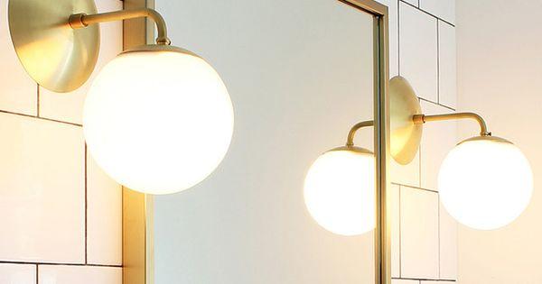 Epingle Par Jillian Bradbury Sur Lighting Avec Images Deco Salle De Bain Eclairage Mural Salle A Manger Vintage