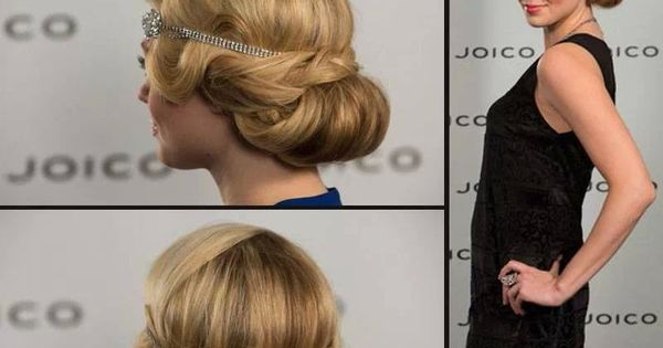 1920s Long Hair Styles: Cute 1920/1930s Hairstyle, Great For Weddings Or A Night