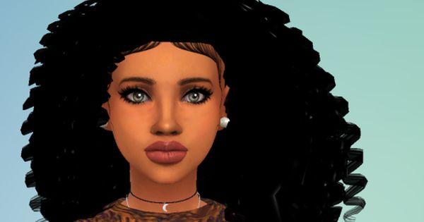 Sims 4 Curly Hair Cc Sims 4 Curly Black Hair Pictures To Pin On Pinterest Sims 4 Curly Hair Sims Hair Sims 4 Black Hair