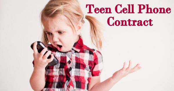 teen cell phone contract super idea! Holy Craft