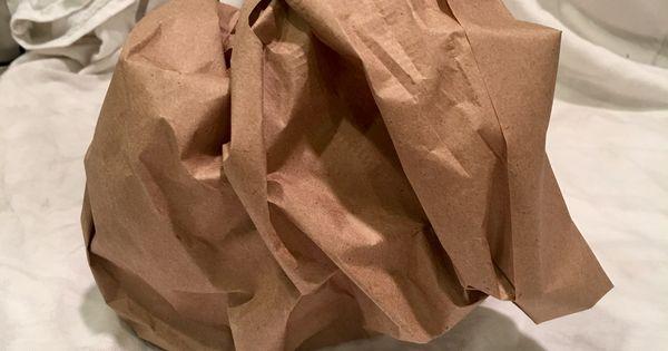 Crumpled Bag 4 Crumple Up A Brown Paper Bag Then Draw It Brown Paper Bag Brown Paper Drawing Exercises