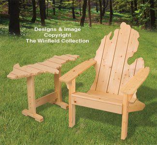 Prime Adirondack Michigan Chair Up Table Plans In 2019 Rocking Machost Co Dining Chair Design Ideas Machostcouk