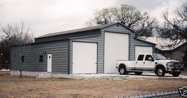 42x41 Steel Garage Storage Building Free Delivery Installation Ebay Garage Building Plans House Garage Design
