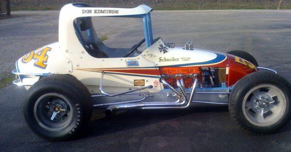 S Sprint Car Race Car