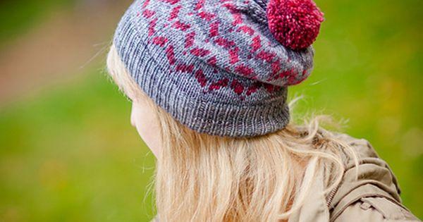Knit Zig Zag Hat Pattern : Zig zag wings pattern by justyna lorkowska knit hats