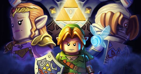 LEGO Legend of Zelda! Yes! Lego must make video game version of