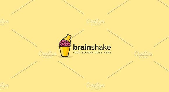 BrainShake Logo by BrankiS on @creativemarket