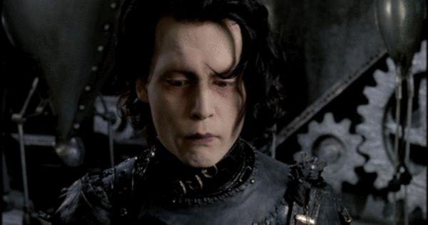 Edward Scissor Hands... I love Johnny Depp!