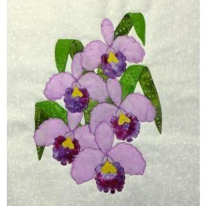 Orchid Block Flower Quilts Applique Flower Quilts Applique Quilts