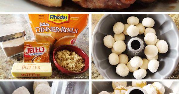 overnight monkey bread recipe Pour frozen dinner rolls into bundt pan. Sprinkle