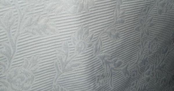 Ikea Blekviva White Jacquard Panel Curtain Heavy Light Blocking Detail Ikea Website Says