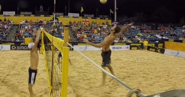 Avp Gopro Clip Cincinnati Open Night Session Avp Beach Volleyball Beach Volleyball Volleyball Cincinnati