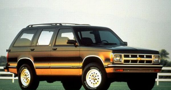 1993 Chevy Blazer The Family S Go Getter S10 Blazer Chevrolet Chevrolet Trucks