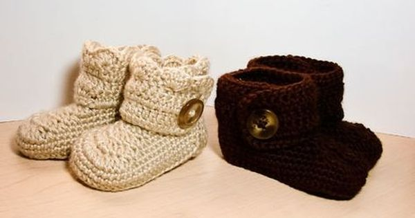 Baby Crochet Boots Pattern Furrylicious Booties   Etsy