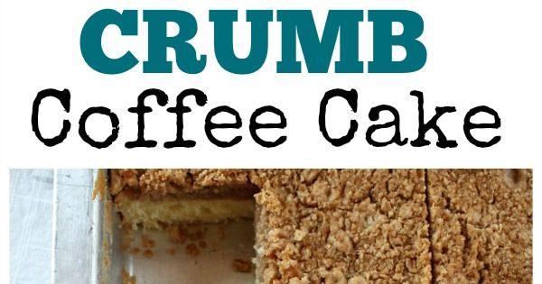 Martha's Classic Crumb Cake | Recipe | Crumb Coffee Cakes, Coffee Cake ...