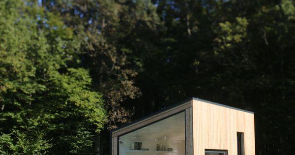 micro maison individuelle pr fabriqu e modulaire en. Black Bedroom Furniture Sets. Home Design Ideas