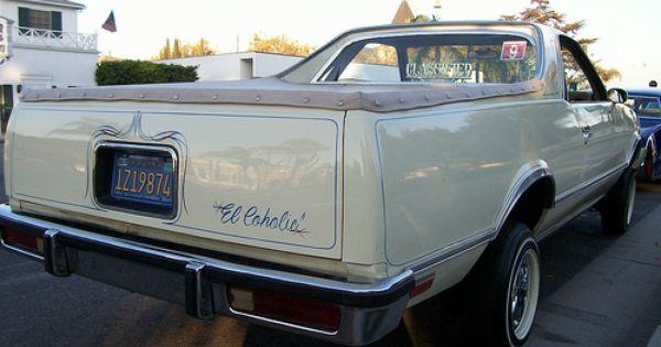 81 El Camino Old School Cars Classic Chevrolet Chevrolet El Camino